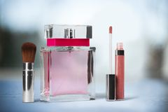 Perfume Cosmetics Stock Image