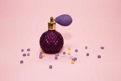 Perfume da senhora Imagens de Stock Royalty Free