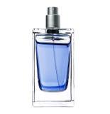 Perfume das mulheres no frasco bonito Foto de Stock