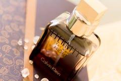 Perfume de Calvin Klein fotos de stock
