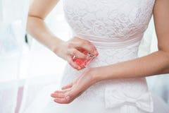 Perfume de la boda Fotografía de archivo libre de regalías