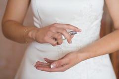 Perfume de la boda Imagen de archivo