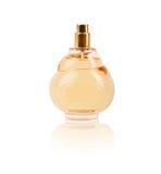 Perfume de las mujeres en botella hermosa fotografía de archivo libre de regalías