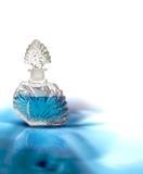 Perfume do azul do vintage Fotografia de Stock