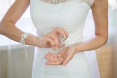 Perfume do casamento Imagem de Stock Royalty Free