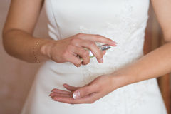 Perfume do casamento Imagem de Stock
