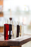 Perfume in drugstore or shop Stock Images