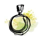 Perfume flavor sketch. Stock Photo
