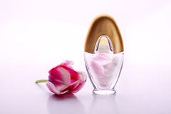 Perfume and flowers Royalty Free Stock Image