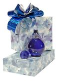 Perfume and gift Royalty Free Stock Photography