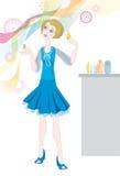 Perfume Girl Stock Image