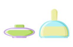 Perfume glamour fashionable beautiful cosmetic bottle and france shiny female packaging tube product female fragrance. Vector illustration. Perfumery femininity Royalty Free Stock Images