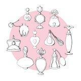 Perfume I vector illustration