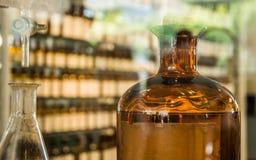 Perfume laboratory. stock photo