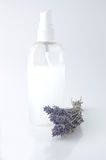 Perfume and lavender Royalty Free Stock Photos