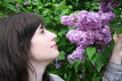 Perfume of lilac Royalty Free Stock Photos
