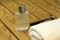 Perfume for men Royalty Free Stock Images