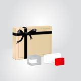 Perfume packaging Royalty Free Stock Images