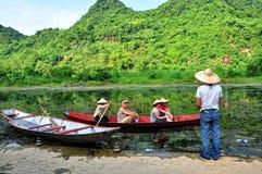 Perfume Pagoda (Ninh Binh, Vietnam) Royalty Free Stock Images
