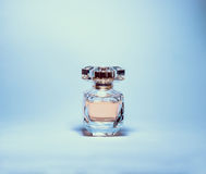 Perfume. Pink perfume bottle in a stunning and amazing smell Royalty Free Stock Photography
