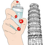 Perfume of Pisa Stock Photography