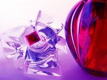Perfume rojo Fotos de archivo libres de regalías