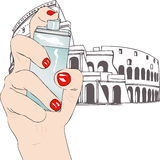 Perfume of Rome Stock Photography