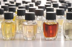 Perfume samples. Royalty Free Stock Images