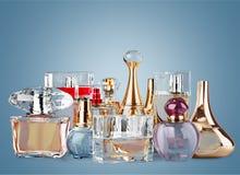 Perfume. Scented  Sprayer Bottle Cosmetics Spray Spraying royalty free stock image