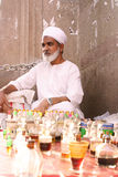 Perfume seller Royalty Free Stock Images
