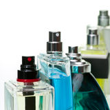 Perfume set Stock Photography