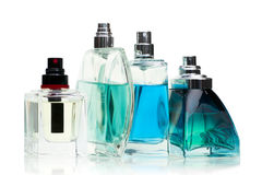 Perfume set Stock Image