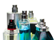 Perfume set Royalty Free Stock Photography