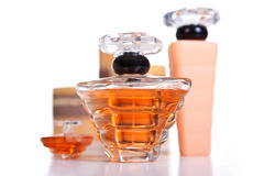 Perfume Set Royalty Free Stock Photo