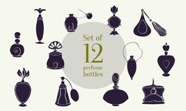 Perfume Set XXXV royalty free illustration
