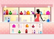 Perfume shop Stock Photography