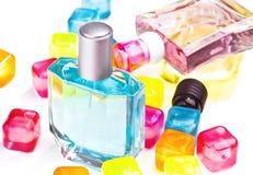Perfume spray Stock Photography