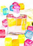Perfume spray Royalty Free Stock Image