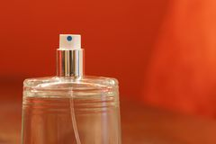 Perfume spray bottle Royalty Free Stock Photos