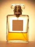 Perfume spray bottle. Glass perfume bottle Stock Image