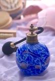 perfume spray bottle Stock Image