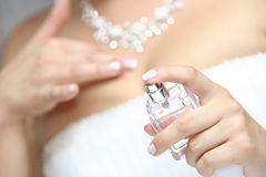 Perfume sprayer Stock Image
