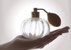 Perfume sprinkler Stock Photos