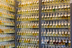 Perfume store, middle east Stock Photography