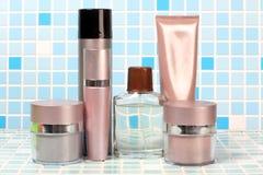 Perfume on tile Royalty Free Stock Photo
