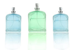 Perfume trio Stock Photo