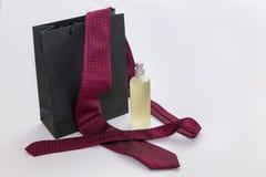 Perfume y lazo Imagenes de archivo