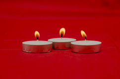 Perfumed candles Stock Photos