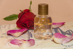 Perfumed Rose Water Royalty Free Stock Image