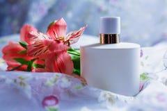 Perfumería, colección de la fragancia imagenes de archivo